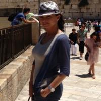 Ramona Badescu, impresionata de locurile sfinte din Israel