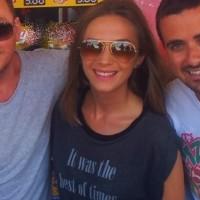 Adela Popescu (DJ Project) vrea sa se faca neagra ca tuciul la mare