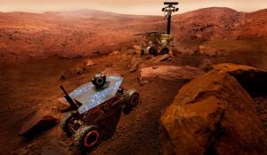 Oamenii de știință au reprodus suprafața planetei Marte pe pământ