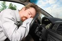 Adormitul la volan, o problemă
