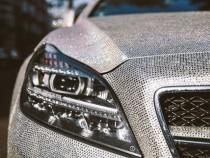 154.600 £ pentru un Mercedes incrustat cu cristale Swarovski