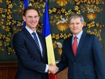Premierul Dacian Cioloș s-a întâlnit cu vicepreședintele Comisiei Europene, Jyrki Katainen