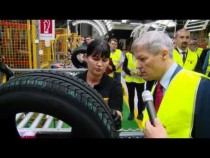 Vizita premierului Dacian Cioloș la fabrica de anvelope Pirelli de la Slatina