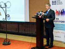 """Premierul Dacian Cioloș a participat la închiderea campaniei de subscriere a titlurilor de stat, ediția """"Centenar"""", la Bursa de Valori București"""