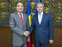 Întrevederea premierului Dacian Cioloș cu secretarul General al Uniunii Internaționale a Telecomunicațiilor, Houlin Zhao