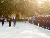 """Premierul Dacian Cioloș a participat la deschiderea anului universitar al Academiei de Poliţie """"Alexandru Ioan Cuza"""""""