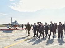 Participarea premierului Dacian Cioloș la activitățile prilejuite de introducerea în serviciu a aeronavei F-16, Fighting Falcon
