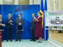 Întâlnirea dintre prim-ministrul Dacian Cioloș și comisarul european pentru cercetare și inovare, Carlos Moedas