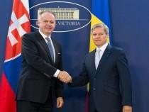 Primirea de către Prim-ministrul Dacian Cioloș a Președintelui Republicii Slovace, domnul Andrej Kiska