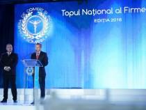 """Premierul Dacian Cioloș a participat la evenimentul """"Topul Național al Firmelor"""""""