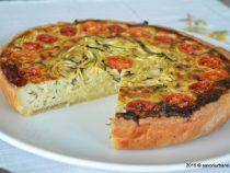 Tarta cu telemea si legume-un deliciu pentru copilul tau