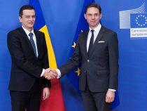 Premierul Sorin Grindeanu s-a întâlnit cu Jyrki Katainen, vicepreședinte al Comisiei Europene, responsabil cu ocuparea forței de muncă, creșterea economică, investiții și competitivitate