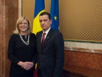 Întrevederea premierului Sorin Grindeanu cu Corina Crețu, comisar european pentru Politică Regională