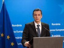 Declarații de presă susținute de premierul Sorin Grindeanu la finalul vizitei efectuate la Bruxelles