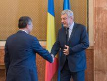 Întrevederea premierului Mihai Tudose cu ambasadorul Republicii Populare Chineze în România, Xu Feihong