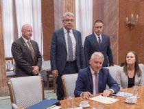 Premierul Mihai Tudose s-a întâlnit astăzi cu reprezentanți ai companiei Bell Helicopter
