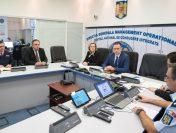 Participarea premierului interimar Mihai-Viorel Fifor la ședința Centrului Național de Conducere Integrată din MAI