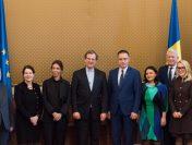 Întâlnirea premierului interimar Mihai-Viorel Fifor cu reprezentanții American Jewish Committee (AJC)