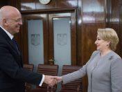 Primirea ambasadorului Republicii Federale Germania în România, Cord Meier-Klodt, de către premierul Viorica Dăncilă