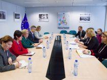 Întrevederea prim-ministrului României, Viorica Dăncilă, cu comisarul european pentru politica regională, Corina Crețu
