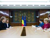 Primirea ambasadorului Republicii Austria în România, Isabel Rauscher, de către premierul Viorica Dăncilă