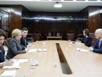 Primirea ambasadorului Republicii Polone la București, Marcin Wilczek, de către prim-ministrul Viorica Dăncilă