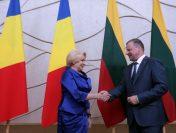 Vizita de lucru a premierului Viorica Dăncilă în Lituania