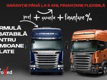Oportunități pentru tine. Investește încredere în camioanele rulate Scania
