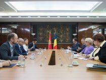 Primirea ministrului de externe al Muntenegru, Srdjan Darmanović, de către Viorica Dăncilă, prim-ministrul României