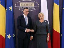 Întrevederea prim-ministrului României, Viorica Dăncilă, cu premierul Republicii Polone, Mateusz Morawiecki