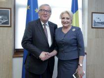 Întrevederea prim-ministrului României, doamna Viorica Dăncilă, cu președintele Comisiei Europene, domnul Jean-Claude Juncker