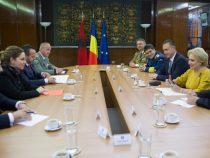 Întrevederea prim-ministrului Viorica Dăncilă cu ministrul apărării din Republica Albania, doamna Olta Xhaçka