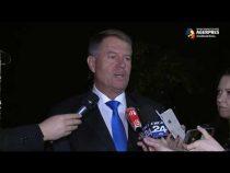 Iohannis: Sunt într-un termen foarte rezonabil de răspuns în cazul propunerilor de miniştri