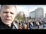 Piața Victoriei: #șîeu. Protest în fața Guvernului: Sute de oameni au blocat circulația