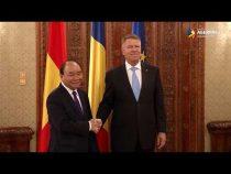 Preşedintele Iohannis l-a primit pe prim-ministrul Vietnamului