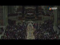 Vatican: Papa Francisc a îndemnat credincioşii să trăiască pentru Dumnezeu
