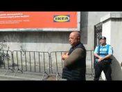 Cât de agresiv acționează un colonel de jandarmi la procesul lui Dragnea