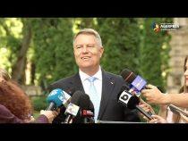 Iohannis: Mă bucură că sunt pesediști care se trezesc