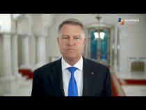 Mesajul Preşedintelui României, domnul Klaus Iohannis