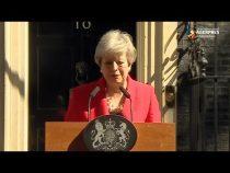 Regatul Unit: Theresa May a anunţat că va demisiona pe 7 iunie